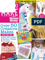 Love to Make With Woman 39 s Weekly - November 2015