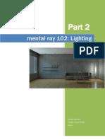 Mental Ray 102 Lighting