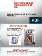 TIPOS CONEXIÓN DE LOS TRANSFORMADORES DE POTENCIA