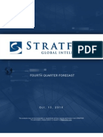 Fourth Quarter 2010 Forecast