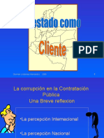 Corrupcion en Colombia (An essay on the Corruption in Colombia)