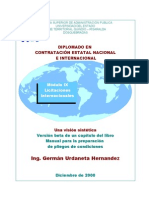 Licitación Internacional  (international bidding processes)