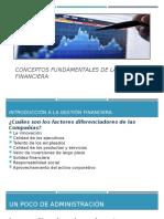Introducción a las gestión financiera