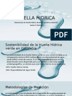 HUELLA HIDRICA DESDE LA ING