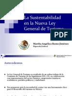 Sustentabilidad LeyGralTurismo