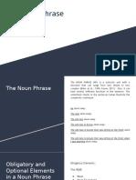 The Noun Phrase Lesson 1.pptx
