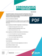 Parte Diario Municipio de Zarate- 20 de Abril.