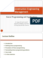 BRE4281_Linear Programming and Applications 2019-20