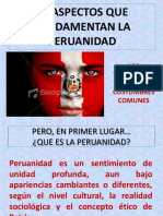 tradiciones y costumbres peruanas