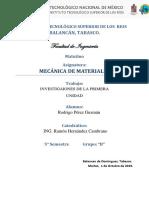 MECANICA DE MATERIALES ROY