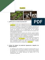 TALLER de Agricultura organica