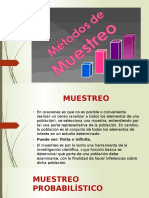 Metodos de Muestreo Exposicion Estadistica 2