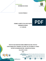 1er Producto.Plan de trabajo IIAP contrato Rommel Otalvaro 2020