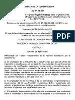 Ley 22.250. Industria de la construcción.docx