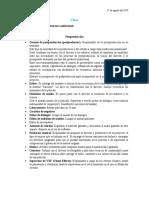 Clase de Finisterra
