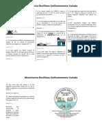 MRUV - Ejercicios Resueltos PDF
