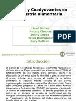 Miller Aditivos y coadyudantes en la industria alimentaria.pptx
