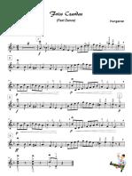 Friss Czardas - melody