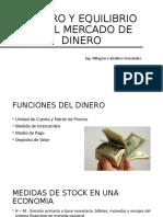 DINERO Y EQUILIBRIO EN EL MERCADO DE DINERO 3