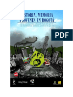 Historia, memoria y jóvenes en Bogotá.