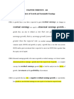 analysis of growth and sustainable earnings.docx