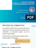CL5 Proceso unitario de Combustion y Escaldado
