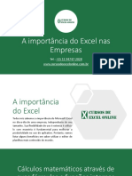 A Importancia Do Excel Nas Empresas
