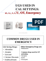Drugs used in Critica care setting.pptx