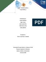 Unidad 2 - Fase 2 – Métodos analíticos1
