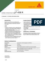Sika MonoTop 438 R - Micro Concrete - PDS.pdf