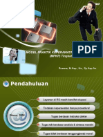 MODEL PRAKTIK KEPERAWATAN PROFESIONAL  (MPKP) Tingkat