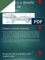 Longitud de resalto hidráulico y diseño de posa.pptx