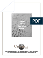 CRISPIN VALVE MAINTENANCE MANUAL