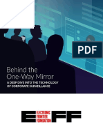 EFF - Behind the One-way Mirror