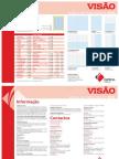Tabela Publicidade Visão 2010