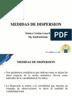 Clase  Medidas Dispersión