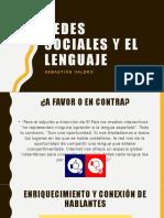 Redes sociales y el lenguaje