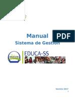 Manual Iplementación Sistema de Gestión de SST Educa-SS