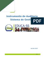 Herramienta de Auditoría Sistema de Gestión de SST Educa-SS