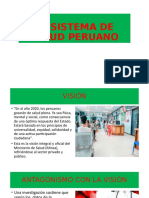 EL SISTEMA DE SALUD PERUANO