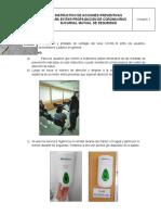 INSTRUCTIVO Acciones preventivas Covid-19