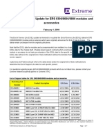 End of Service Life Update Bulletin for Ers 8300 8600 8800 1