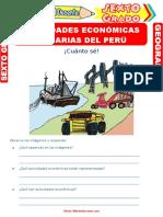 Actividades-Económicas-Primarias-del-Perú-para-Sexto-Grado-de-Primaria