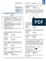 Space Dynamics - Problem Sheet Level 2