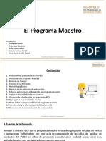 Programa maestro