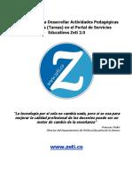 Instructivo de Asignación de Actividades Pedagógicas - Estudiantes