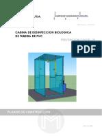 CABINA DE DESINFECCION BIOLOGICA