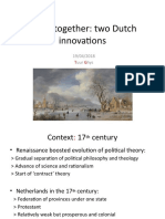 Two Dutch innovations