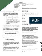 S-1-SUMA , RESTA,MULTIPLICACION Y DIVISION  DE MONOMIOS Y  POLINOMIOS