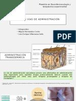 Nuevas vías de administración